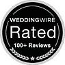 Javier Olivero - Certification - WeddingWire 100+ Rated