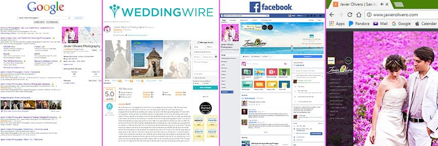 Mayor search engines for wedding photographers